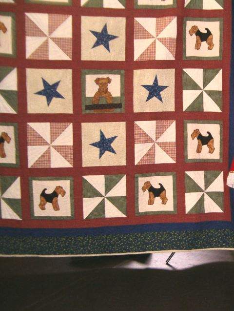 This purty quilt was up for auction!